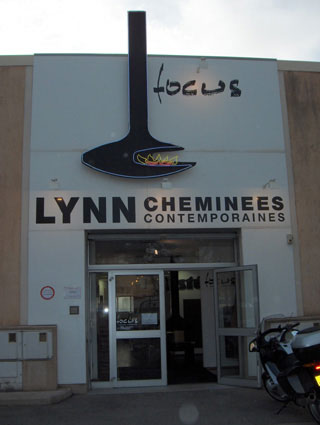 showroom Lynn cheminées France