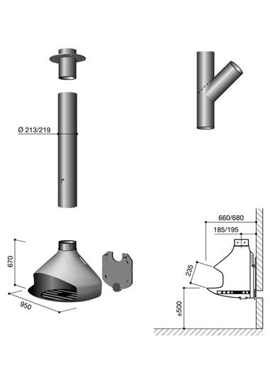 Schéma de la cheminée design Paxfocus