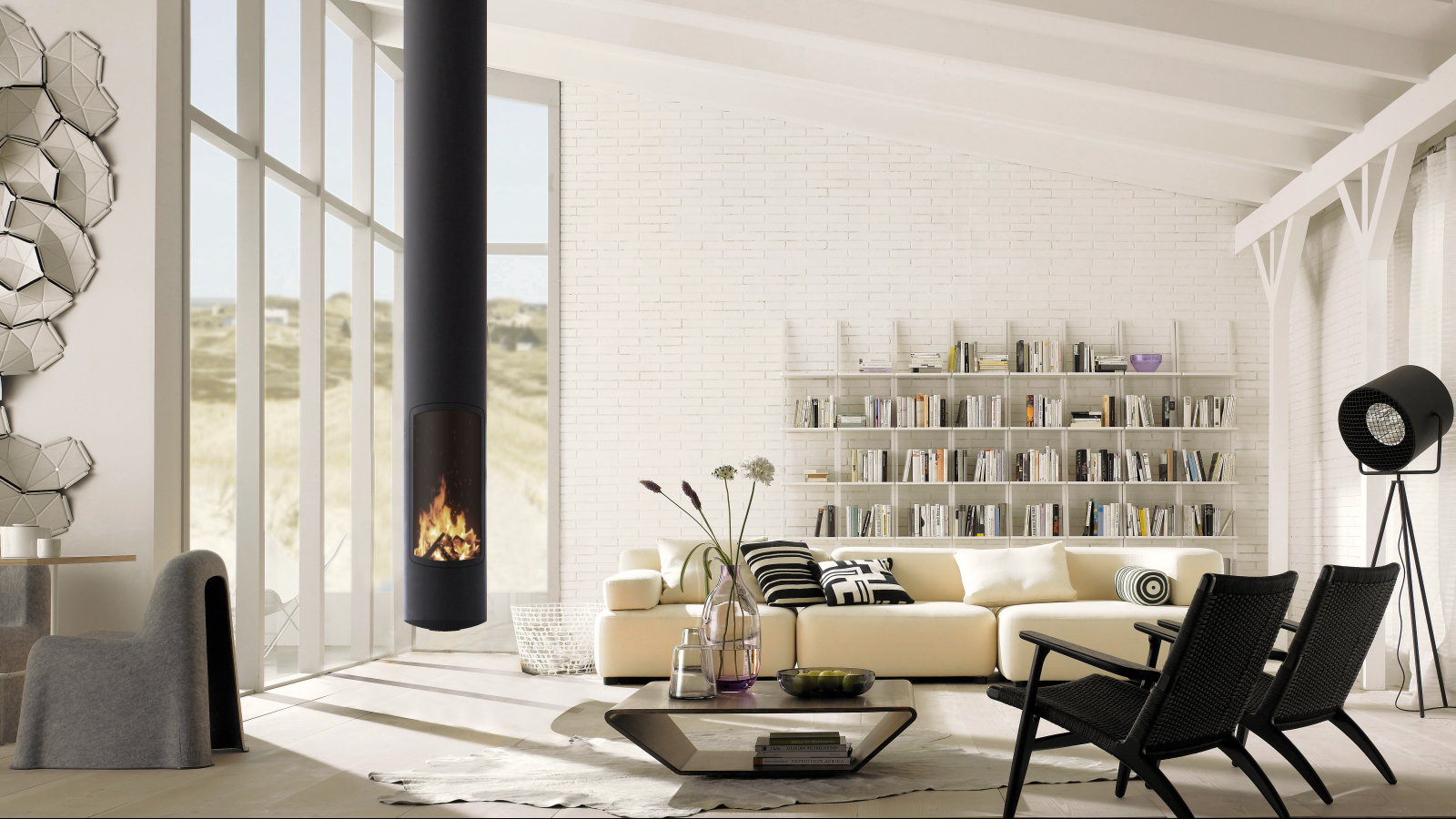 Cheminée Suspendue Foyer Ouvert focus - design fireplaces, stoves & modern barbecues | focus