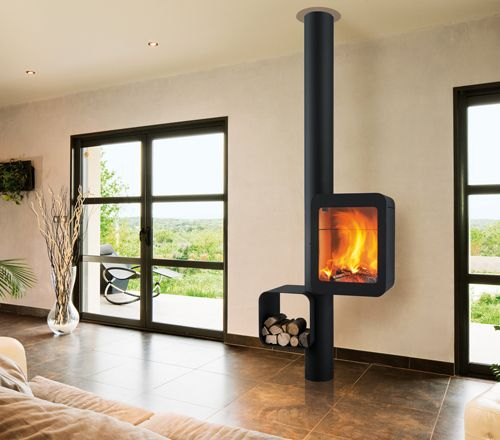 Focus design fireplaces stoves modern barbecues focus for Cheminee interieur moderne