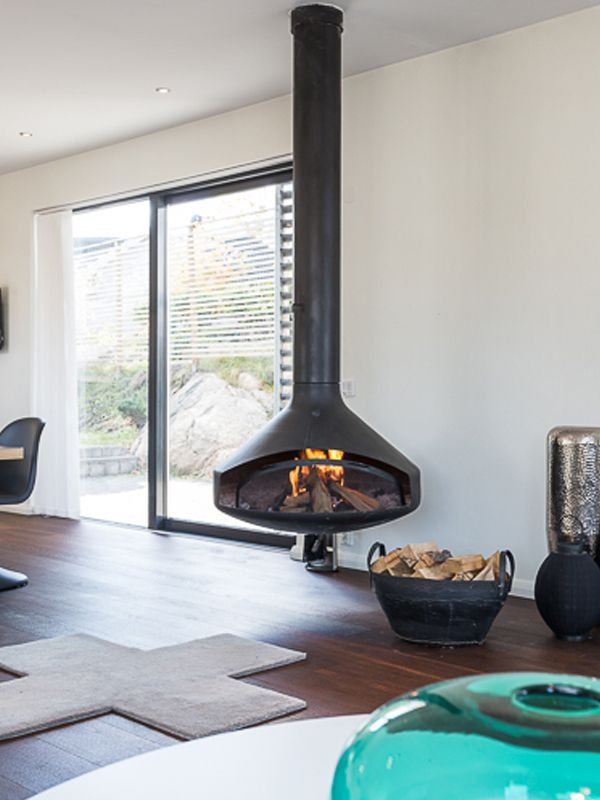 Wood Burning Fireplace Hearth Ideas