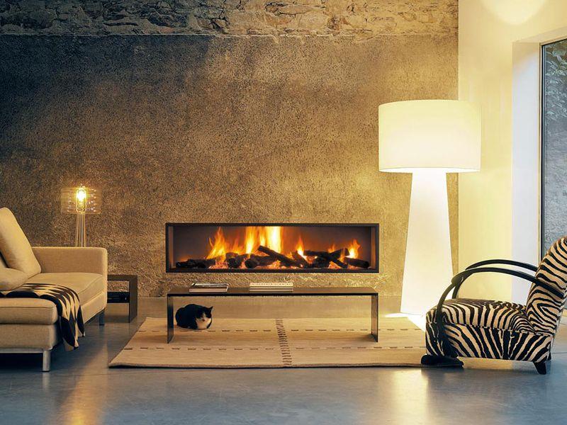 Cheminée Design Néofocus - Contemporary Fireplace Insert Focus