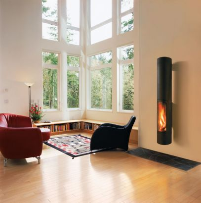 wall mounted fireplace slimfocus wallmounted