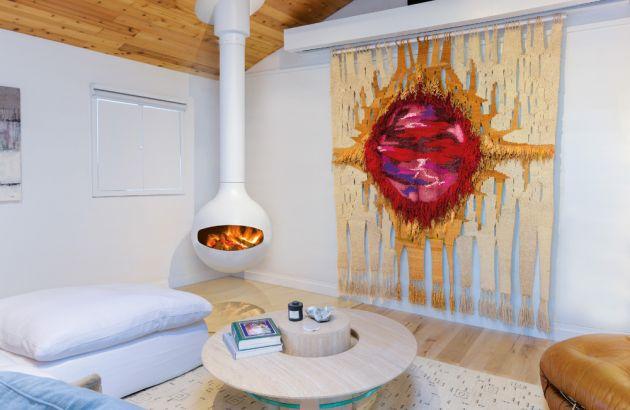central designer fireplace white Batyscafocus