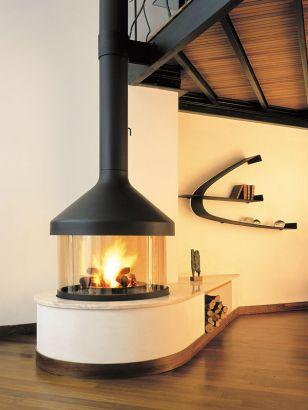 central designer fireplace Meijifocus
