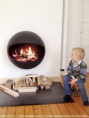 designer fireplace Emifocus