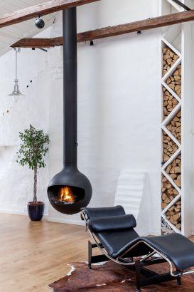 central designer fireplace Batyscafocus