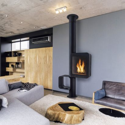 high-performance contemporary stove Grappus gas