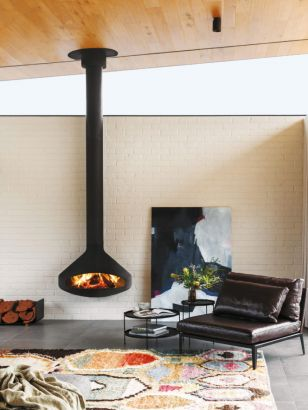 Contemporary designer fireplace Paxfocus