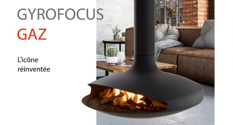 Focus creation architectes architectural design design inspiration contemporary fireplace suspended fireplace interior dominique Imbert gas gyrofocus