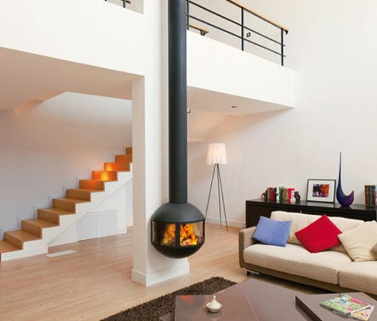 Closed fireplace | Focus