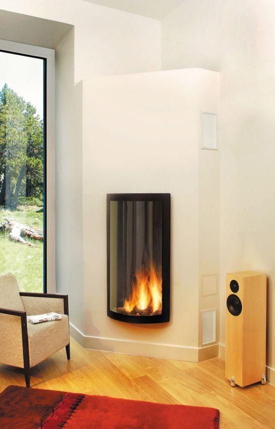 Contemporary Fireplace Insert Focus