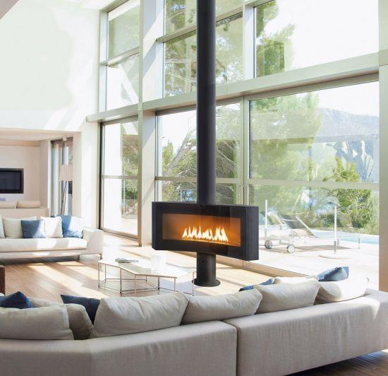 poele a bois central design chemine bois centrale cronos with poele a bois central design. Black Bedroom Furniture Sets. Home Design Ideas